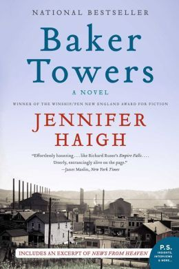 Baker Towers, by author Jennifer Haigh