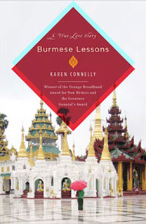 Burmese Lessons: A Memoir, by author Karen Connelly