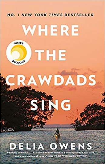 Where The Crawdads Sing, by author Delia Owens