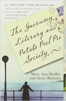 The Guersney Literary and Potato Peel Pie Society, by author Annie Barrows