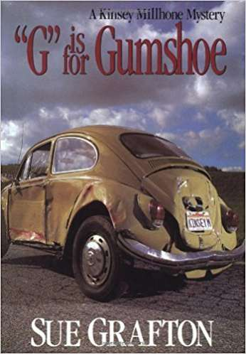 G is for Gumshoe, by author Sue Grafton