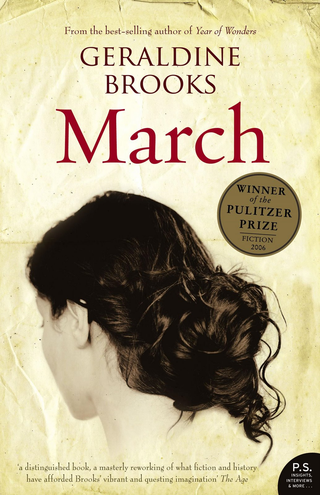 March, by author Geraldine Brooks
