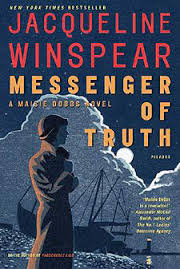 Messenger of Truth, by author Jacqueline Winspear