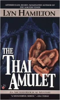 The Thai Amulet, by author Lyn Hamilton